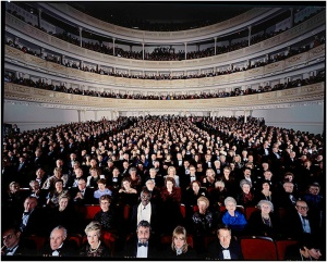 If you are in Carnegie Hall, you are somebody, even if nobody knows who you are.