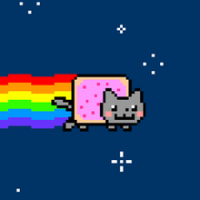Even Nyan Cat thinks Russia has too much land.